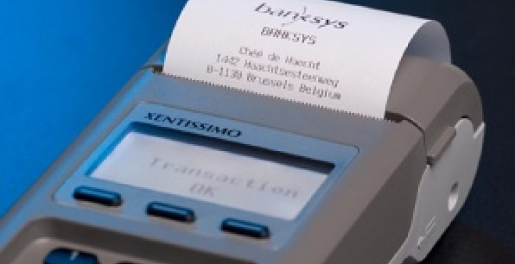 Photo: XENTISSIMO payment terminal