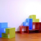 Thumbnail-Photo: PD3 - Line of objects, lights and furniture