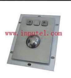 I-KT101 - Stainless steel trackball for internet kiosks, self-service terminals...