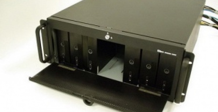 Photo: AOpen Engine Core - 19-inch 4U rack mount stand for up to 6 digital...