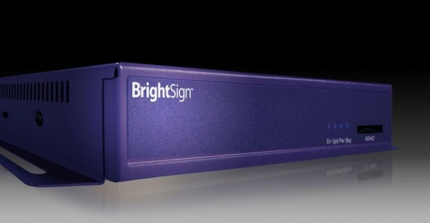 BrightSign Demonstrates Live Video Module in IBC Digital Signage Village...