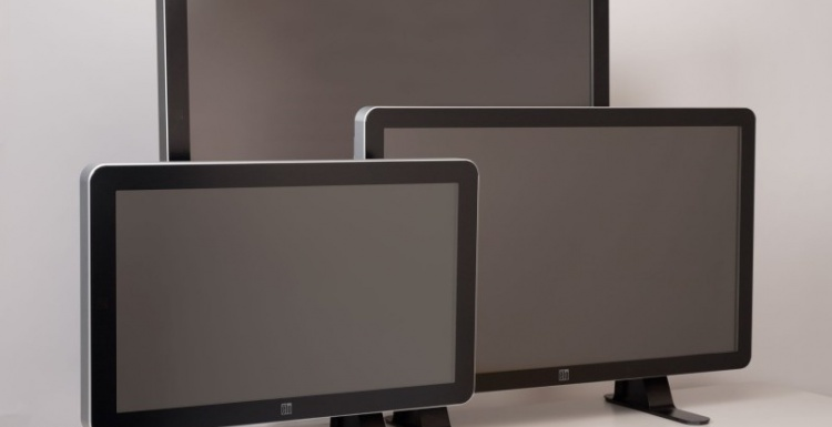 Photo: New interactive digital signage solutions from Elo Touchsystems...
