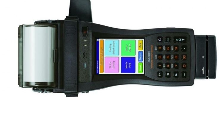 Photo: The ideal terminal for mobile sales and ticketing solutions...