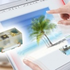 Thumbnail-Photo: Super low-profile optical touch screens thanks to powerful miniature LEDs...