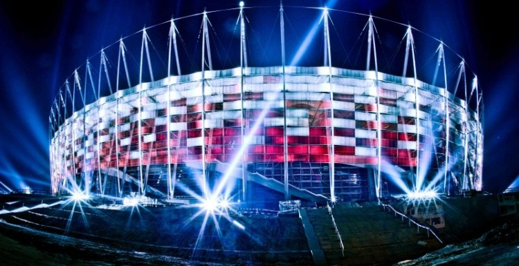Photo: Osram illuminates 2012 European Football Championship...
