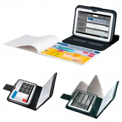 The intelligent document scanner records handwritten memos in meetings...