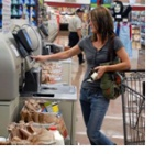 Thumbnail-Photo: IP video surveillance secures self checkouts...