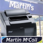Thumbnail-Photo: Martin McColl selects Star TSP100 futurePRNT printers for UK stores...