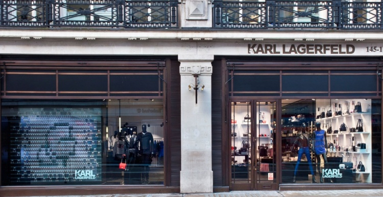 Photo: Europe's largest Karl Lagerfeld flagship store just opened on...