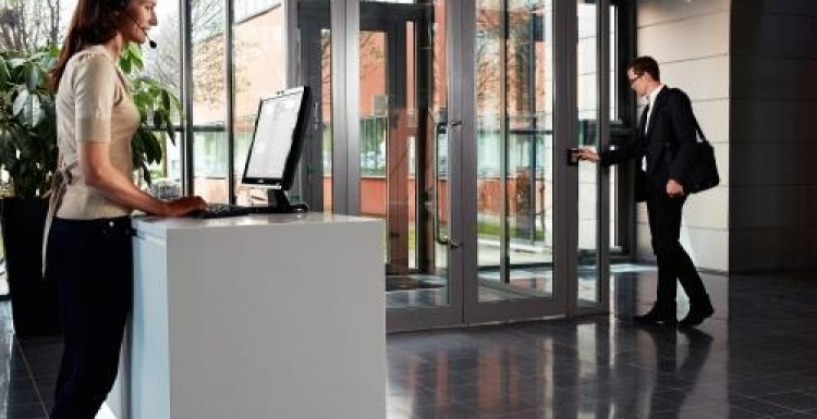 Photo: Axis extends its physical access control products to Europe...