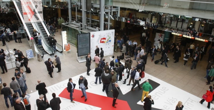 Photo: Guided Innovation Tour at EuroCIS