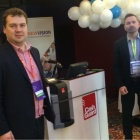 Thumbnail-Photo: CashGuard and New Vision on the road together with Microsoft...