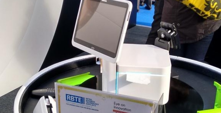 Photo: Eye on innovation: Unique Secure introduces a worlds first at RBTE 2015...