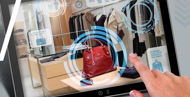 Photo: Tyco Retail Solutions showcases new RFID in-store visibility at...
