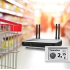 Thumbnail-Photo: Electronic Shelf Labeling – wireless price updates via radio...