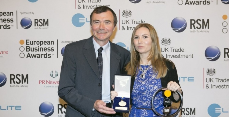 Photo: TOMRA wins Business of the Year Award
