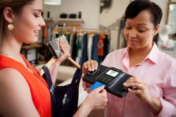 Verifone's device combined with Aava Mobile's tablet provides mPOS...
