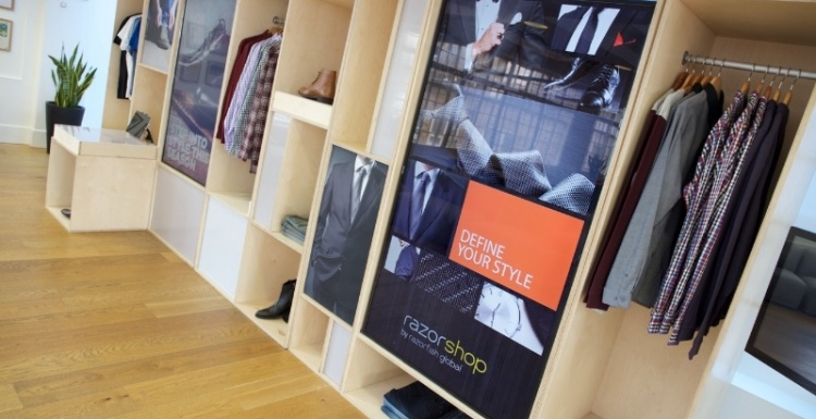 Photo: Razorfish Global showcases personalized retail experience...