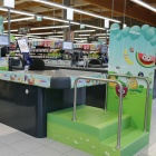Thumbnail-Photo: What shop design can look like: Merkur supermarket in Krems, Austria...