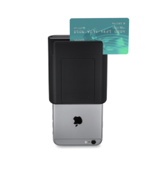 Infinea Tab M for iPhone 6 Plus adds a magnetic stripe reader (MSR) to the...