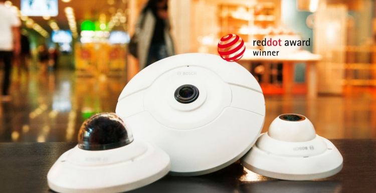 Photo: Maximize connected security - Intelligent products made by Bosch...