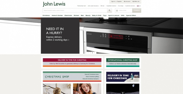 Photo: John Lewis improves online customer experience with Oracle Commerce...