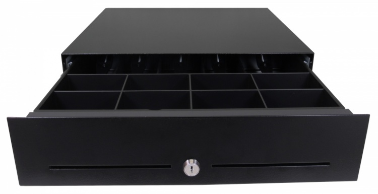 Photo: Configurable cash drawer to fit existing retail furniture...