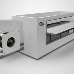 Thumbnail-Photo: Güntner insulated unit cooler Thermostore for cold rooms...