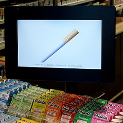 Thumbnail-Photo: screenFOODnet present digital signage for retail...