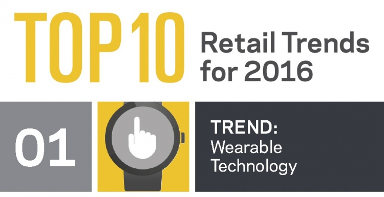 Photo: Technology influences eight of the top 10 retail trends for 2016...