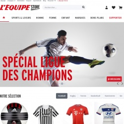 Thumbnail-Photo: L'Équipe launches marketplace for sports products...