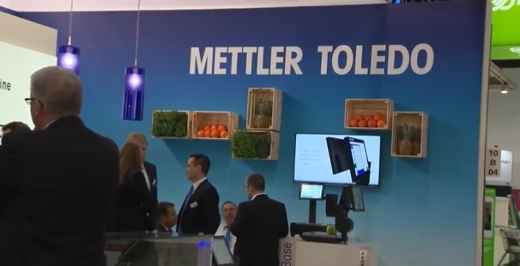 Photo: METTLER TOLEDO at EuroCIS 2016