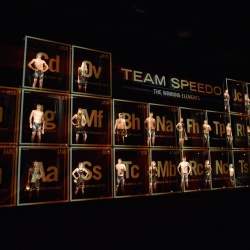 Thumbnail-Photo: Holo-Gauze creates augmented reality installation for Team Speedo launch...