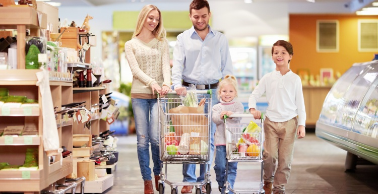 Photo: The right shopping cart for every customer