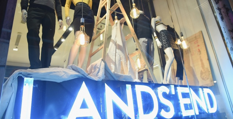 Photo: Lands End opens pop-up shop in New York City...