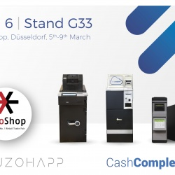 Thumbnail-Photo: SCAN COIN and SUZOHAPP revolutionize cash handling at EuroShop 2017...