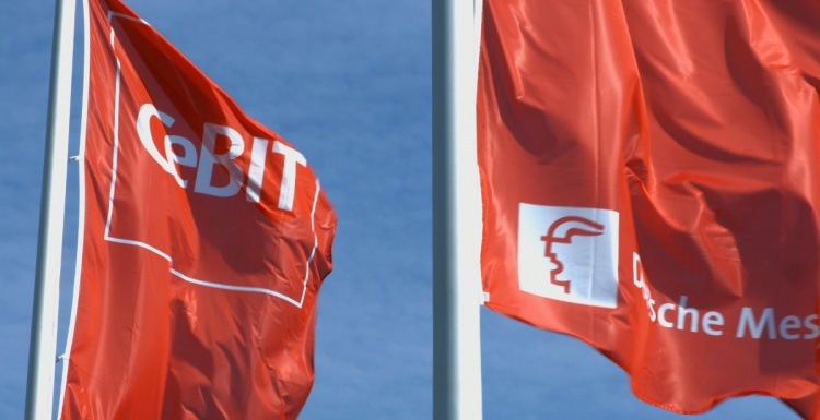 Photo: CeBIT presented solutions for the retail industry...