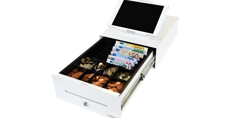 Photo: Sleek and small cash drawer solutions attract large cosmetic chains...
