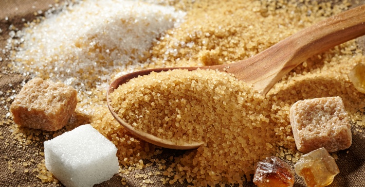 Photo: Several kinds of sugar; copyright: panthermedia.net / magone...