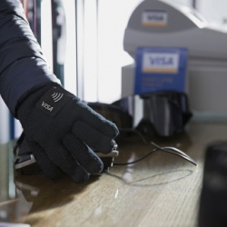 Thumbnail-Photo: Visa creates wearable payment devices in the spirit of the Olympic...