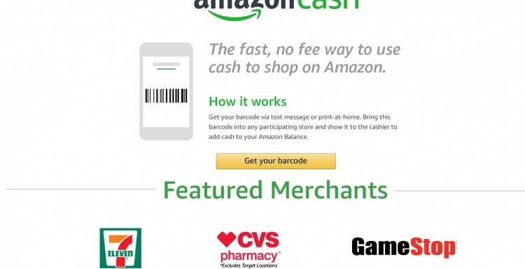 Photo: 7-Eleven gives unbanked access to online shopping with Amazon Cash...