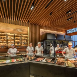 Thumbnail-Photo: Starbucks opens the first Princi bakery location in the U.S....