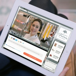 Thumbnail-Photo: Live video shopping: in-store personal shopping assistance for online...
