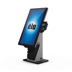 Thumbnail-Photo: Elo introduces the future of self-service with new Wallaby stands...