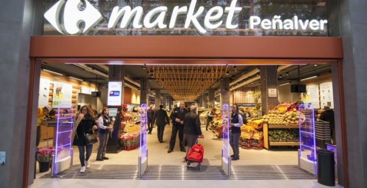 Photo: Carrefour's Market Peñalver store wins Best food and Supermarket...