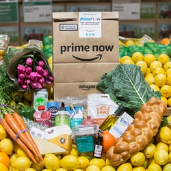 Thumbnail-Photo: Amazon launching Whole Foods Market delivery service...