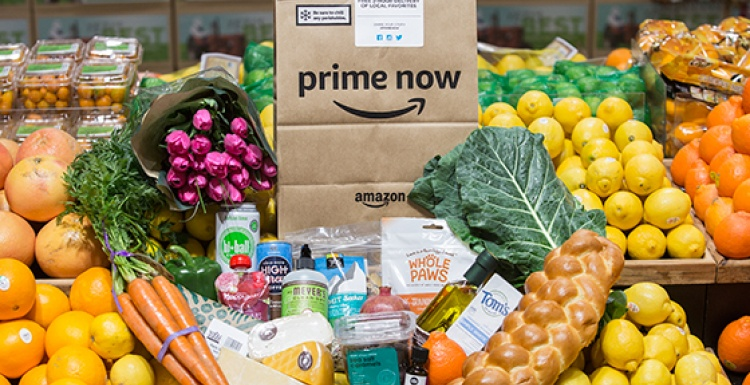Photo: Amazon launching Whole Foods Market delivery service...
