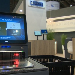 Thumbnail-Photo: 4POS presents new POS hardware at EuroCIS 2018...