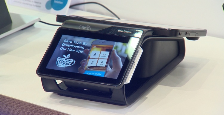 Photo: From payment device to interaction interface between retailer and...