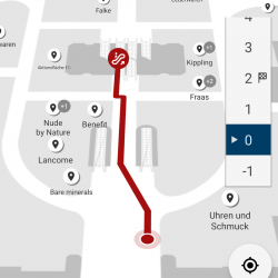 Thumbnail-Photo: Favendo realizes indoor navigation for Karstadt in Düsseldorf...